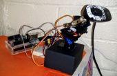 Webcam remota pan/tilt