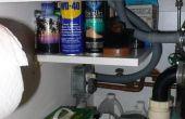 Almacenamiento debajo del fregadero
