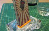Hacer un adaptador de AirCurve Griffin para el iPhone 4 con Sugru