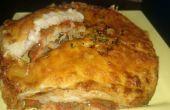 Hecho en casa receta de lasaña vegetariana en Philips Airfryer