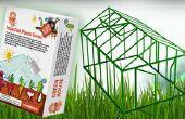 Hacer tu propio invernadero - las plantas crecen con rapidez