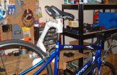 Mesa de PVC reparación soporte de bicicleta