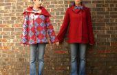 Proyecto y coser un abrigo Reversible ajuste personalizado