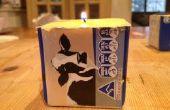Hacer una vela de mantequilla - experimento de ciencia