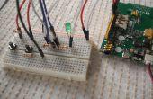 LinkIT uno: LED interruptor de dos vías
