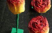 BRICOLAJE madera regalo de rosa