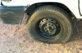 Cómo volver a sellar el grano en un neumático la manera de la diversión!