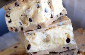 Receta de Sandwich de helado de galletas masa