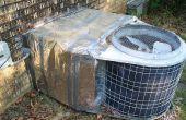 Aislar la bomba de calor al aire libre
