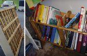 Capítulo de libro: Reciclar un somier de caja en un estante de libros!