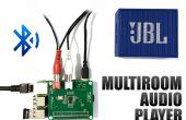 Reproductores de audio 3 en 1 frambuesa Pi con Bluetooth - fácil instalación HiFi Multiroom