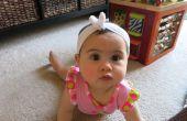Reutilizar bebé diadema con pajarita (o bebé Bandana?)-No Sew!