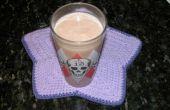Batido de leche de soja de chocolate mantequilla de maní