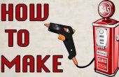 Cómo hacer una pistola de pegamento con alimentación de GAS portátil