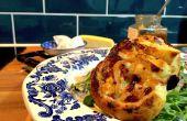 Tarta de salsa picante y queso de cabra de 15 minutos | Cocinando con Benji