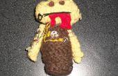 Crochet Cyber Zombie - colección Creepy Cute Crochet
