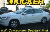 """Kicker 6.5"""" altavoz Mod e instalación 2008 Honda Accord"""