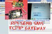ENVIAR SMS TCPIP GATEWAY - PHP, PYTHON y MySQL con escudo RPI y una gsm