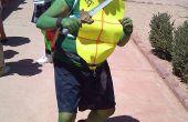Disfraz de tortuga Ninja fácil!