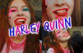 Harley Quinn suicidio Escuadrón maquillaje
