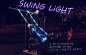 Luz de swing: una bicicleta alimentado swing brillante