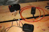 Mod una herramienta inalámbrica batería para funcionar con la corriente de la pared