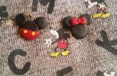 Mickey y Minnie Mouse pendientes