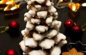 Árbol de Navidad de galleta de jengibre 3D
