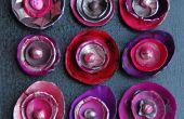 Rosetones de arcilla de polímero