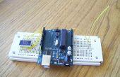 Detector de EMF (campo electromagnético) de Arduino