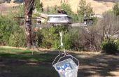 Deporte de aluminio X helicóptero marco de diseño para resistencia, lightwieght y fácil.