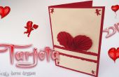 BRICOLAJE / San Valentín tarjeta - arte