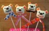 Cómo hacer un San Valentín de la melcocha oso Pop