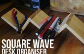 Square Wave Desk organizador