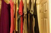 Aire seco ropa cuando usted tiene un espacio limitado