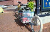 ¿Solo remolque de bici con ruedas