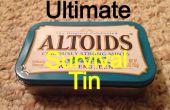 Última lata de la supervivencia de Altoids