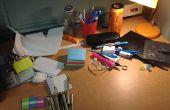 Organizador de escritorio de reciclado barato impresionante