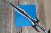 6 pies largo Skyrim: gran espada Daédrico.