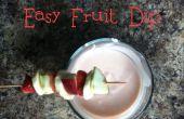 Dip fácil de fruta