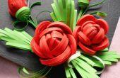 3D había enclavijada Rose por herramientas hechas a mano.