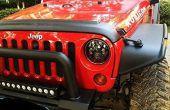 Jeep Wrangler JK LED linterna antiparpadeo decodificadores