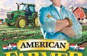 John Deere americano agricultor de hacking
