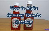 Como hacer goma de tomate salsa de tomate botella