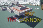 Minecraft: 360° cañón TNT
