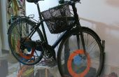 Sin embargo otra reparación soporte bicicleta
