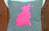 Silueta Animal gráfico almohadas
