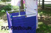 Playhouse de PVC y esenario de títeres