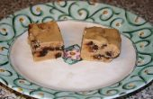Mantequilla de maní de viruta de chocolate Fudge