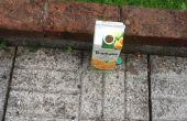 Trampa de avispa de cartón de jugo! ¿